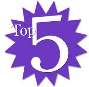 top 5 on sissiworld